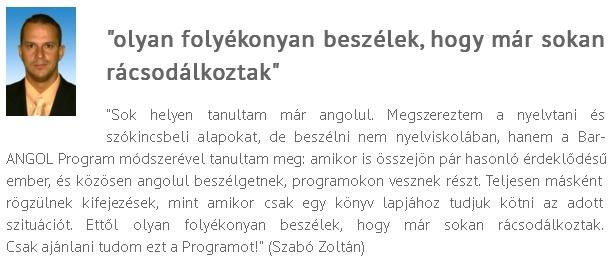 BA vélemény Szabó Zoltán