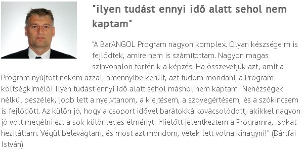 BA vélemények Bártfai István