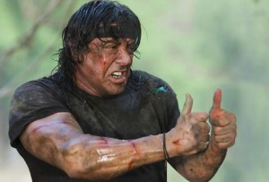 Thumb up Stallone
