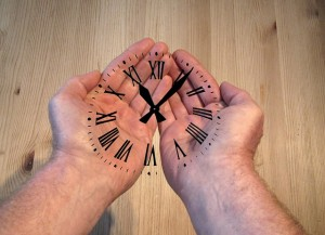 Time hand