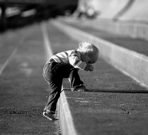 Child's climbing steps
